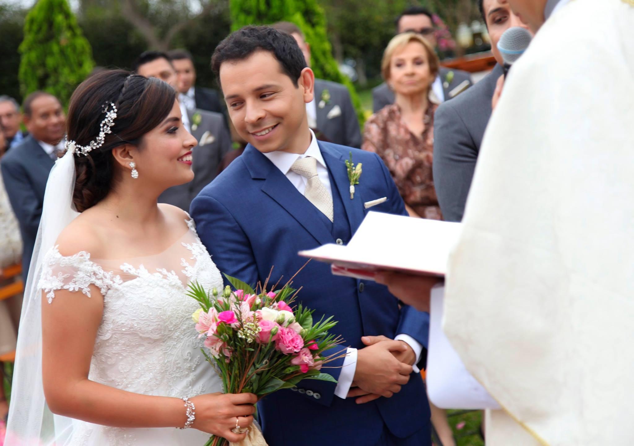 Cynthia y Rafael - Foto: Dinamo Productora